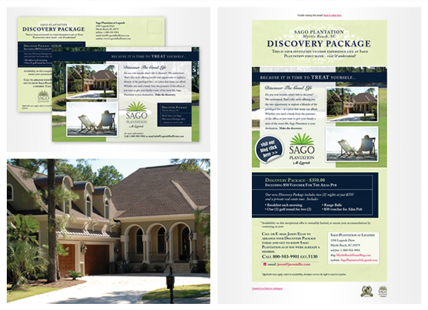 email marketing Myrtle Beach Real Estate Flyer Design | Inkhaus ...